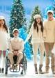"Cory Monteith, Jenna Ushkowitz, Kevin McHale, Melssa Benoist, Blake Jenner, Becca Tobin, Samuel Larsen in GLEE - Season 4 - ""Glee, Actually"" | ©2012 Fox/Eddy Chen"
