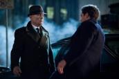 Peter (Josh Jackson, R) battles Windmark (guest star Michael Kospa, L) in the final and extraordinary battle | (c) 2013 Liane Hentscher/FOX