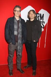 Marco Beltrami and Buck Sanders at the Los Angeles Premiere of WARM BODIES | ©2013 Sue Schneider