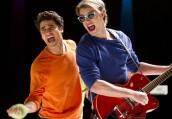 "Darren Criss and Chord Overstreet perform WHAM in GLEE - Season 4 - ""Guilty Pleasures"" | ©2013 Fox/Adam Rose"