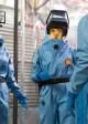 Emily Deschanel and Tamara Taylor in BONES - Season 8 - 'The Pathos in the Pathogens' | ©2013 Fox/Michael Desmond