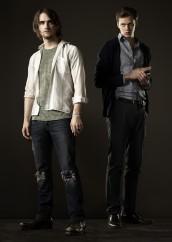 Landon Liboiron and Bill Skarsgard in HEMLOCK GROVE   ©2013 Netflix