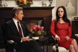"Henry Czerny and Madeleine Stowe in REVENGE - Season 2 - ""Identity"" | ©2013 ABC/Vivian Zink"