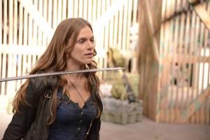 "Tracy Spiridakos in REVOLUTION - Season 1 - 'The Song Remains the Same"" | ©2013 NBC/Brownie Harris"