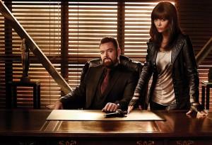 Marton Csokas and Thandie Newton in ROGUE | (c) 2013 DirecTV