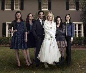 Alexandra Breckridge, Heather Burns, Madison Davenport, Michael Landes and Joy Osmanski in SAVE ME - Season 1   ©2013 NBC/Robert Trachtenberg