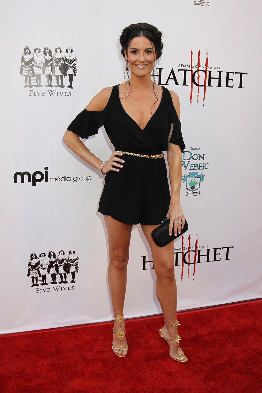 Rileah Vanderbilt at the Red Carpet Premiere of HATCHET III | ©2013 ...