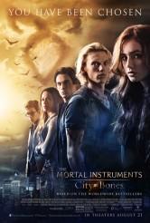 THE MORTAL INSTRUMENTS CITY OF BONES Final Movie Poster | ©2013 Screen Gems