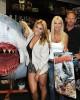 Cassie Scerbo, Tara Reid, Ian Ziering and the Shark participates in the Sharknado DVD Signing | ©2013 Albert L. Ortega