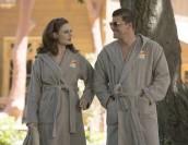 "Emily Deschanel and David Boreanaz in BONES - Season 9 - ""The Cheat in the Retreat"" | ©2013 Fox/Patrick McElhenney"