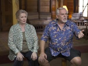 "John Ratzenberger and Millicent Martin in BONES - Season 9 - ""The Cheat in the Retreat"" | ©2013 Fox/Patrick McElhenney"