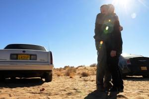"Bryan Cranston and Aaron Paul in Season 5 - ""Buried""   ©2013 AMC/Ursula Coyote"