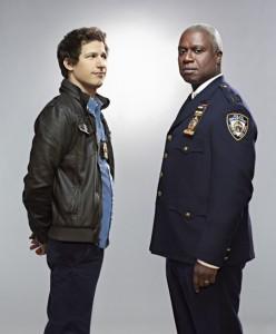 Andy Samburg and Andre Braugher in BROOKLYN NINE-NINE - Season 1 |  ©2013 Fox/Patrick Eccelsine