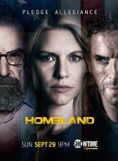 HOMELAND - Season 3 Key Art | ©2013 Showtime