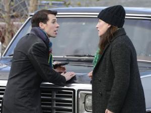Jordan Gavaris and Tatiana Maslany in ORPHAN BLACK - Season 1 | ©2013 BBC America/Steve Wilkie