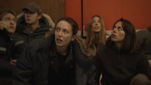 Daniel Sutton as Daniel, Johnny Wactor as Johnny, Anne-Marie Mueschke as Anne-Marie, Esther Anderson as Esther, Sabina Akhmedova as Sabina in SIBERIA - Season 1 | ©2013 NBC/Keith Eidse