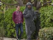 "Elijah Wood and Jason Gann in WILFRED - Season 3 - ""Regrets"" | ©2013 FX/Prashant Gupta"