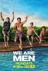 Tony Shalhoub, Jerry O'Connell, Kal Penn and Chris Smith in WE ARE MEN - Season 1 | ©2013 CBS