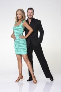 Elizabeth Berkley and Val Chmerkovskiy in DANCING WITH THE STARS - Season 17 | ©2013 ABC/Craig Sjodin