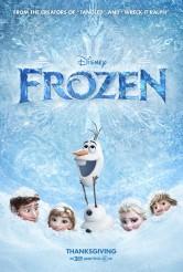 FROZEN movie poster | ©2013 Disney