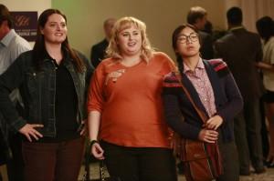 "Lauren Ash, Rebel Wilson and Liza Lapira in SUPER FUN NIGHT - Season 1 - ""The Love Lioness"" | ©2013 ABC/Ron Tom"