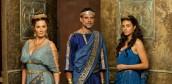 Sarah Parish, Alexander Siddig and Aiysha Hart in ATLANTIS - Season 1 | ©2013 BBC America