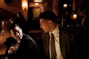 Milo Ventimiglia and Jon Bernthal in MOB CITY - Season 1 ©2013 TNT/Scott Garfield
