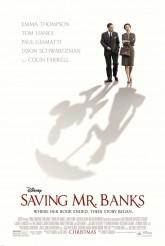 SAVING MR BANKS movie poster | ©2013 Walt DIsney Pictures