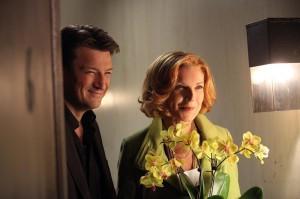 "Nathan Fillion and Susan Sullivan in CASTLE - Season 6 - ""Get a Clue""  | ©2013 ABC/Carol Kaelson"