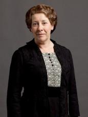 Phyllis Logan in DOWNTON ABBEY | ©2013 PBS/Joss Barratt