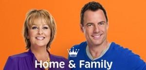 Mark Steines and Cristina Ferrare host HOME & FAMILY on the Hallmark Channel | © 2014 Hallmark