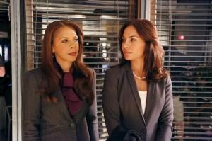 "Penny Johnson Jerald and Salli Richardson-Whitfield in CASTLE - Season 6 - ""The Greater Good""| ©2014 ABC/Richard Cartwright"