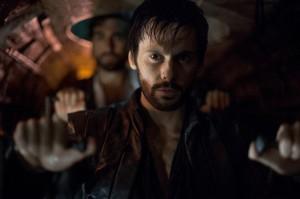 Tom Riley as Leonardo Da Vinci in DA VINCI'S DEMONS | © 2014 Starz