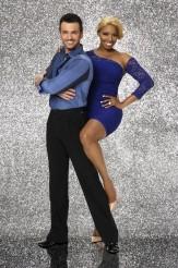 Tony Dovolani and NeNe Leakes in DANCING WITH THE STARS - Season 18   ©2014 ABC/Craig Sjodin