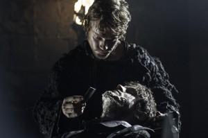 "Alfie Allen, Iwan Rheon in GAME OF THRONES - Season 4 - ""The Lion and the Rose"" | ©2014 HBO/Helen Sloan"