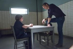 Jacob Lofland as Kendal Crowe, Timothy Olyphant as Deputy U.S. Marshal Raylan Givens in JUSTIFIED | © 2014 Prashant Gupta/FX