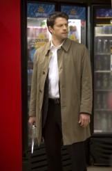 "Misha Collins in SUPERNATURAL - Season 9 - ""Meta Fiction"" | ©2014 The CW/Katie Yu"