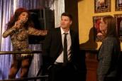 "David Boreanaz in Emily Deschanel in BONES - Season 9 - ""The Drama in the Queen"" | ©2014 Fox/Patrick McElhenney"
