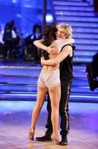 Sharna Burgess and Charlie White on DANCING WITH THE STARS - Season 18 - Week Nine | ©2014 ABC/Adam Taylor