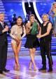 Tom Bergeron, Sharna Burgess, Erin Andrews and Charlie White on DANCING WITH THE STARS - Season 18 - Week Nine | ©2014 ABC/Adam Taylor