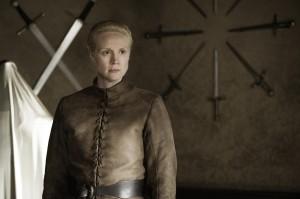 "Gwendoline Christie in GAME OF THRONES - Season 4 - ""Oathkeeper"" | ©2014 HBO/Helen Sloan"