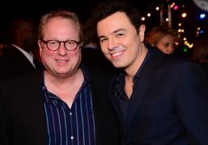 Joel McNeely and Seth MacFarlane | ©2014 Joel McNeely