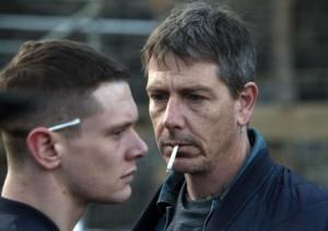 Jack O'Connell and Ben Mendelsohn in STARRED UP | ©2014 Tribeca Films