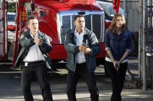 "Seamus Dever, Jon Huertas and Stana Katic in CASTLE - Season 7 - ""Driven"" | ©2014 ABC/Kelsey McNeal"