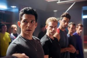 Tony Bravo (Gabriel Luna), Lafell (Jeff Berg), Saurian (Julien Samani) in MATADOR - Season 1 | ©2014 El Rey