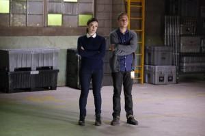Elizabeth Hendstridge and Iain De Caestecker in Marvel's AGENTS OF SHIELD | ©2014 ABC/Kelsey McNeal