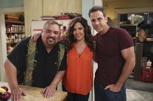 Gabriel Iglesias, Maria Canals-Barrera and Carlos Ponce in CRISTELA - Season 1 | ©2014 ABC/Adam Taylor