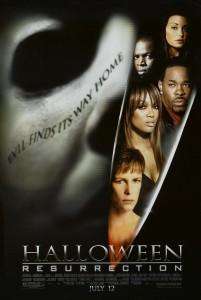 HALLOWEEN RESURRECTION movie poster | ©2002 Dimension