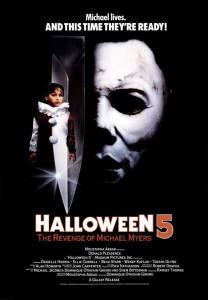 HALLOWEEN 5: THE REVENGE OF MICHAEL MYERS movie poster | ©1989 Trancas
