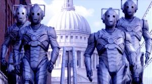"The Cybermen in DOCTOR WHO - SERIES 8 - ""Dark Water"" | ©2014 BBC/BBC Worldwide"
